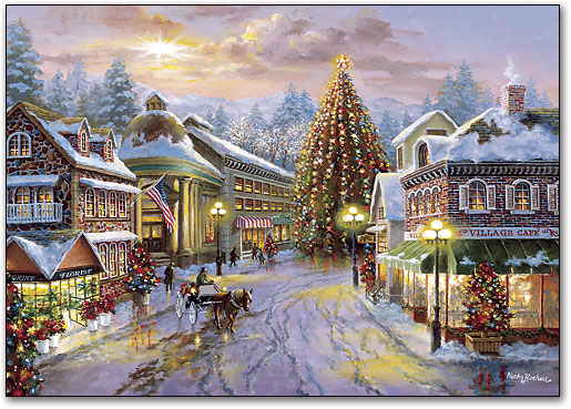 Christmas Town.Country Christmas Town Smartpractice Sharpercards