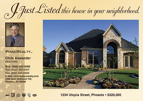 Real Estate - Just Listed Cards | SmartPractice SharperCards
